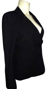 Semantiks Dress Jacket Size 8 Lined Tailored Nice Nordstroms BLACK Blazer