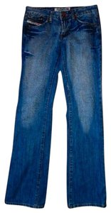 SWEET INDUSTRIES Size 27 P466 Boot Cut Jeans-Medium Wash