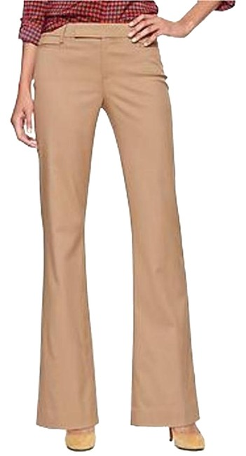 Gap New With Tags Office Boot Cut Pants Camel