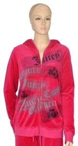 Juicy Couture Velour Sweatsuit Hoodie Jacket