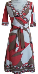 BCBGMAXAZRIA short dress Abstract Print on Tradesy