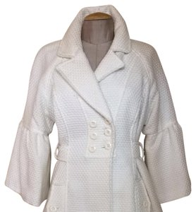 AB Studio Cream White Jacket