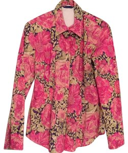 Georg Roth Los Angeles Button Down Shirt Pink floral print