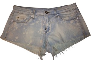 BlankNYC Shorts acid wash blue jean