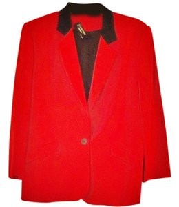 Renlyn Bright Embellished red Blazer