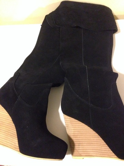 N.Y.L.A. Black Suede Boots