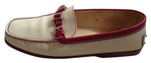 Tod's Beige with red Flats
