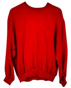Notations Silk Elastic Top red