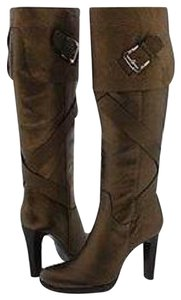 Via Spiga Tall Gold Pewter Bronze Bronze/Pewter Boots