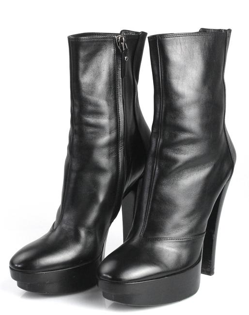 Item - Black Leather Boots/Booties Size EU 35.5 (Approx. US 5.5) Regular (M, B)