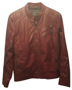 Wilsons Leather Red Leather Jacket