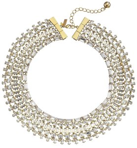 Kate Spade Hot in the Fashion Blogs! Kate Spade Vegas Jewels Statement Necklace NWT Timeless Classic!