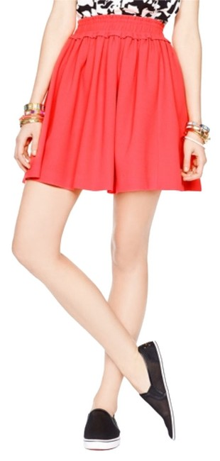 Preload https://img-static.tradesy.com/item/8753260/kate-spade-coral-crepe-gathered-skirt-size-2-xs-26-0-1-650-650.jpg