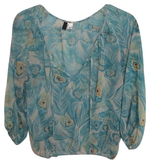 Divided by H&M Top Turquoise