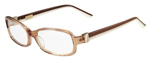 Salvatore Ferragamo Salvatore Ferragamo SF2613 210 Brown 53mm Womens Rx Eyeglasses