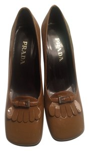 Prada Patent Brandy Pumps