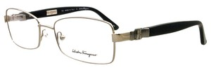 Salvatore Ferragamo Salvatore Ferragamo SF2107 035 Shiny Gunmetal Womens Rx Eyeglasses