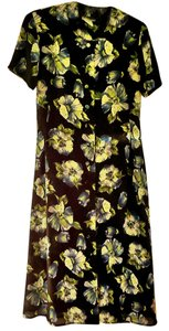 floral Maxi Dress by Leslie Fay