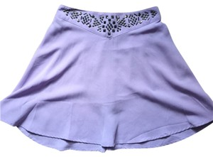 Silence + Noise Skirt Purple