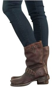 Frye Veronica Shortie Boot Cognac brown Boots