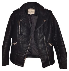 Rachel Roy Leather Faux Leather Leather Jacket