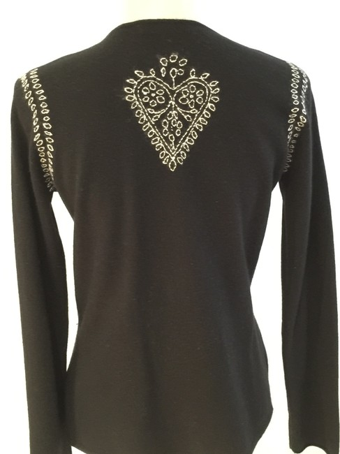 Lord & Taylor Cashmere Cashmere Tunics Size Small Embroidered Sweater Image 6