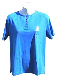 Rebecca Malone Petite Brand New W/ Tag Small T Shirt Blue
