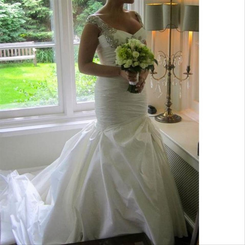 Ines di santo enya wedding dress tradesy for Ines di santo wedding dress prices