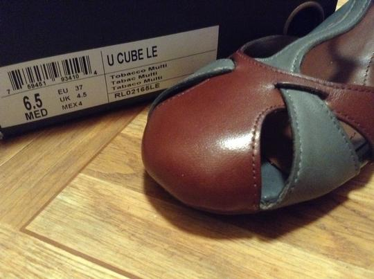 Kenneth Cole Reaction Brown/Gray Sandals