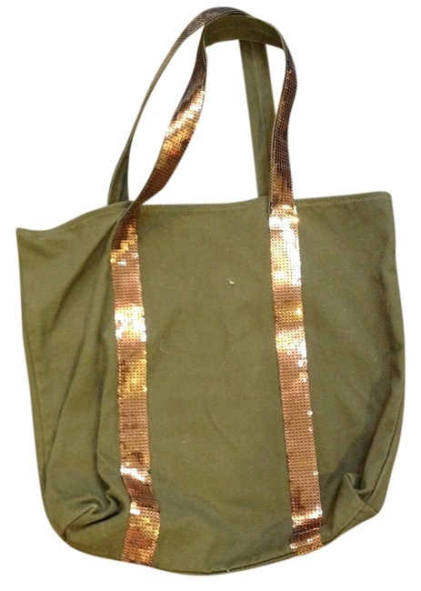 Item - Olive Green Cloth Tote