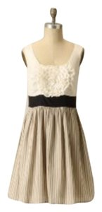 Anthropologie short dress Cream on Tradesy