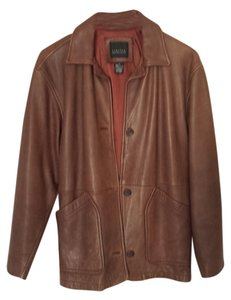 The Limited Brown Leather Jacket