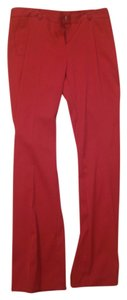 Victoria's Secret Work Flare Pants red