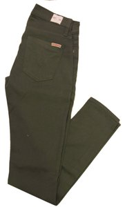 Hudson Jeans Coated Nice Skinny Jeans-Coated