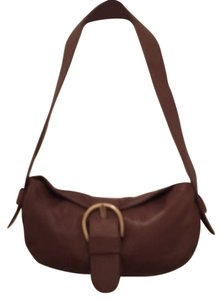 Sundance Leather Shoulder Handbag Cross Body Purse Hobo Bag