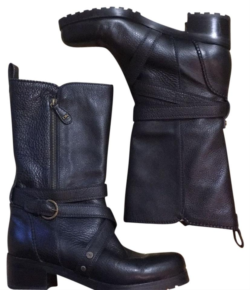womens Donna Karan Black good Moto Boots/Booties Known for its good Black quality 19f3eb