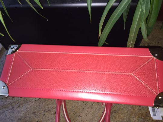 Louis Vuitton Lv Suhai Leather Hanbag Satchel in Red Image 5