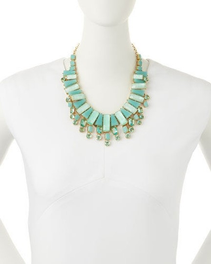 Kate Spade Perfect for Tropical Get Away! Kate Spade Beach Gem Necklace NWT Soothing Bit of Winter Zen... Image 1