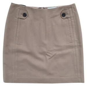Banana Republic Mini Skirt Tan