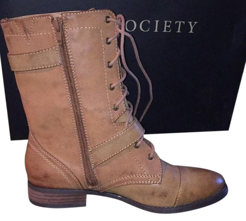 woman Boots/Booties Sole Society Camel So-nessie Boots/Booties woman Ideal gift for all occasions 1f348c