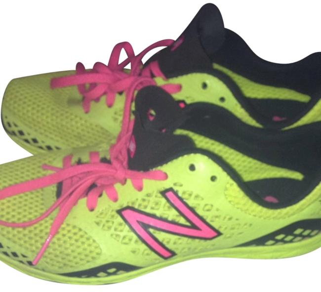 Item - Neon Yellow & Pink Xc90 and Hot Sneakers Size US 7 Regular (M, B)