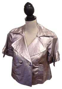 Trina Turk Top Metallic Mauve
