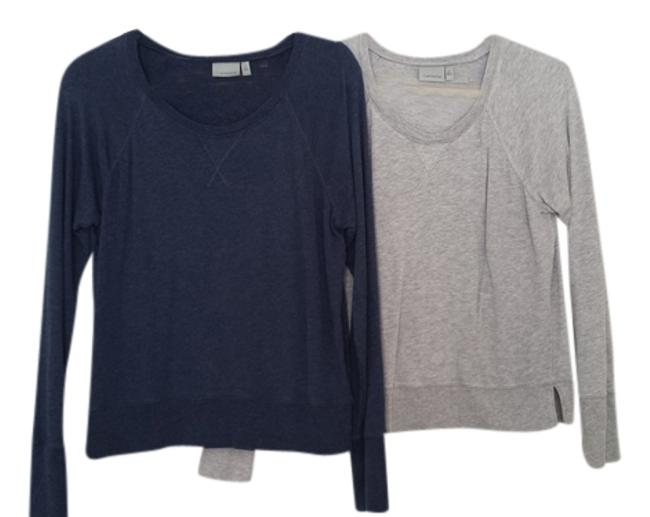 Item - Navy and Gray Activewear Top Size 8 (M, 29, 30)
