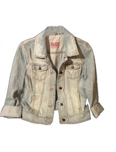Hollister light blue Womens Jean Jacket