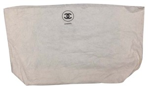Chanel Chanel #3604 XXXL Extra Large White cotton Dust Pouch 30 X 18 Tote Bag