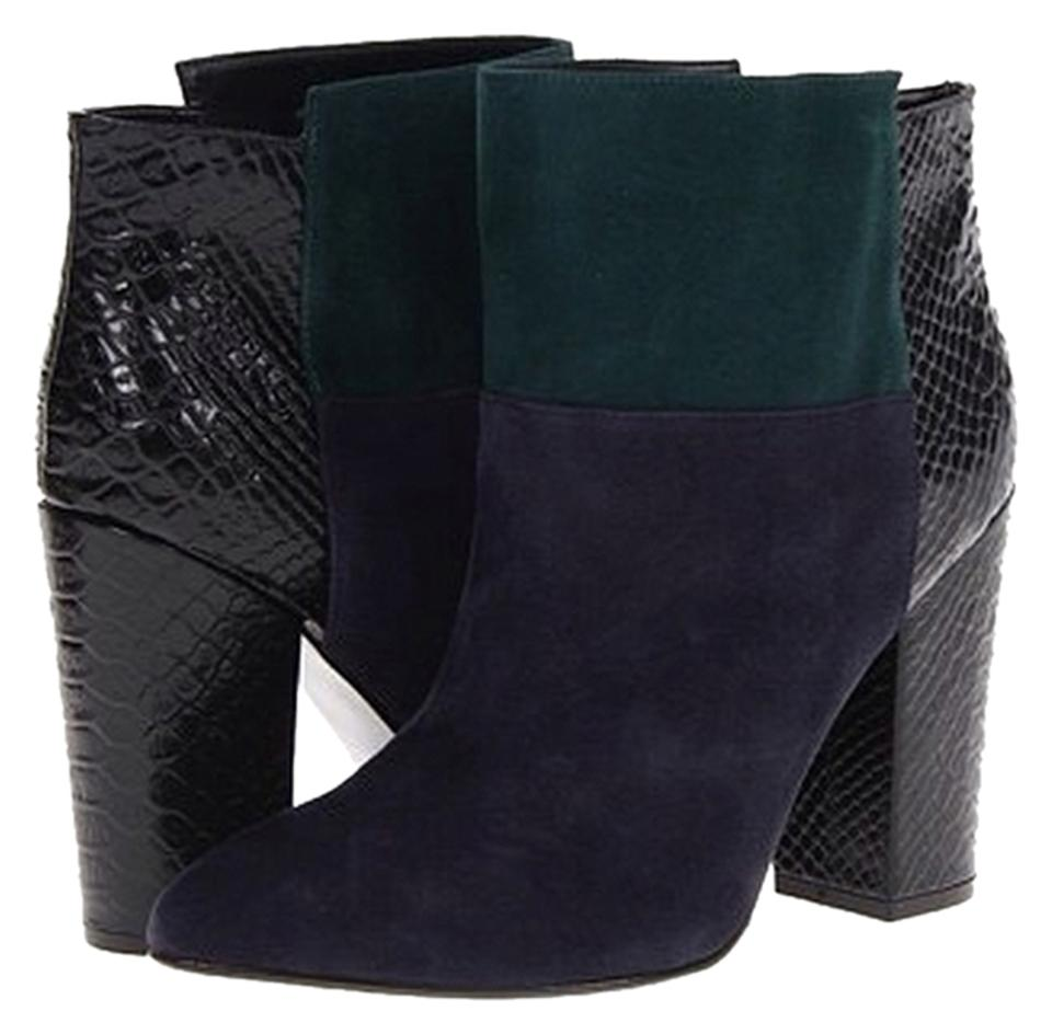 lady Emerald special /Navy Allure Suede Boots/Booties special Emerald purchase f33318