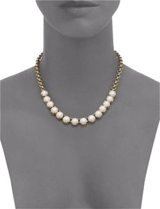 Kate Spade Modern Twist On Classic Pearl Necklace! Kate Spade Squared Away Pearl Necklace NWT Perfect for Office to Evening!