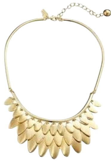 Preload https://img-static.tradesy.com/item/8761816/kate-spade-12k-gold-plate-layered-ruffled-strands-of-feathers-fancy-flock-bib-exquisitely-designed-f-0-5-540-540.jpg