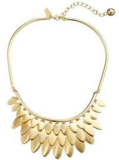 Kate Spade Layered Ruffled Strands of Feathers! Kate Spade Fancy Flock Bib Necklace NWT Exquisitely Designed for Modern Chic! Image 1