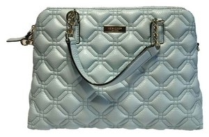 Kate Spade Kate Spade Astor Court Small Rachelle Quilted Leather Handbag WKRU2653 Grace Blue